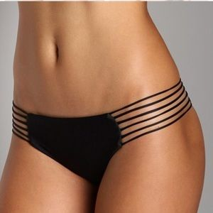 ☀️ LIGHT GRAY MIKOH Tortola Side String bottoms ☀️